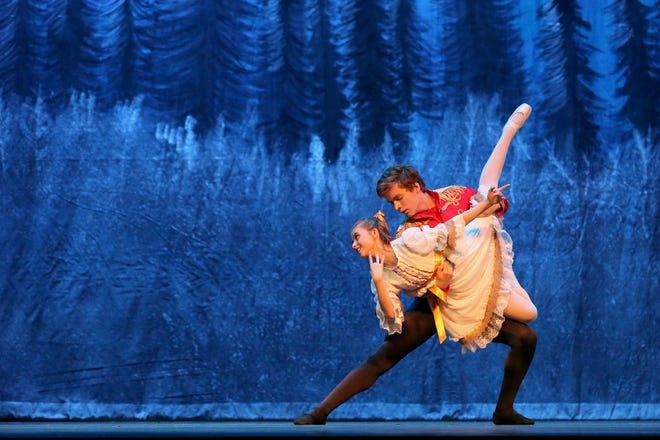 Michael Sherrod and Nico Covington are performing in the 2018 Ballet San Angelo presentation of The Nutcracker from Dec. 14-16.