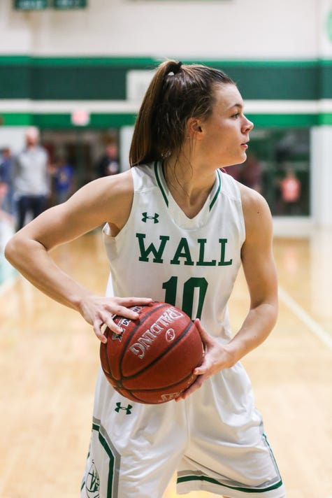Reagan County At Wall Girls Basketball Dec 11 2018