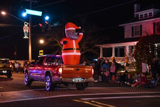 The annual Dagsboro Christmas Parade took place on Tuesday, Dec 11, 2018.