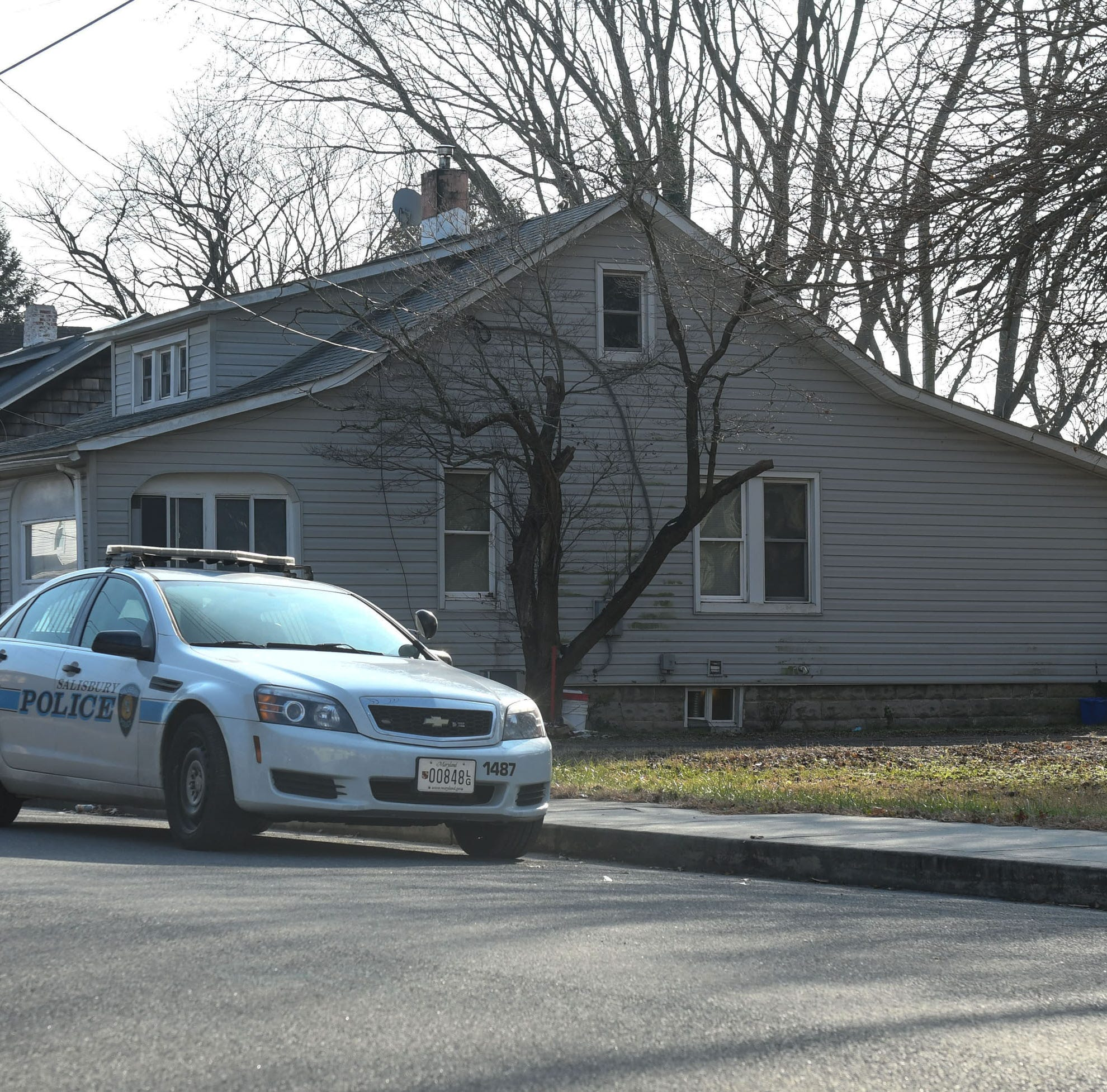 The Salisbury Police Department is working to locate a suspect in a Wednesday shooting at the 200 block of Marshal Street in Salisbury.