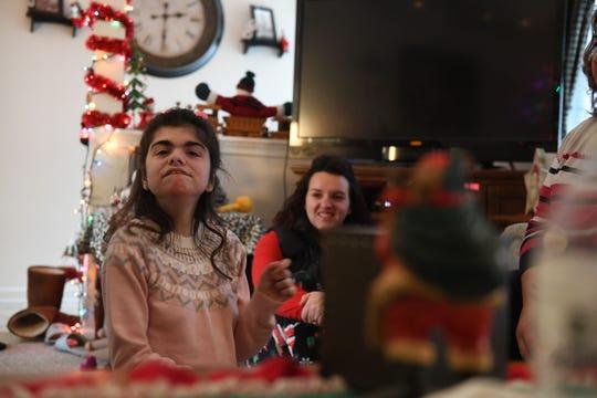 Amanda Ehrisman, at her home in Ocean Pines on Monday, Dec. 10, 2018.