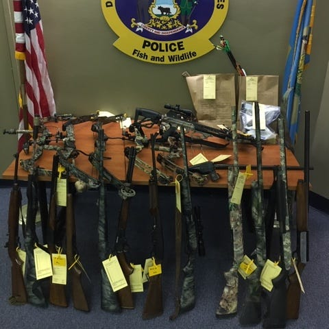 Two Sussex men charged for poaching, crossbow, multiple firearms