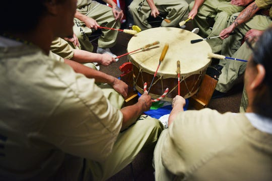 Inmates at the South Dakota State Penitentiary have a Family Powwow Saturday, Dec. 8, at the penitentiary.