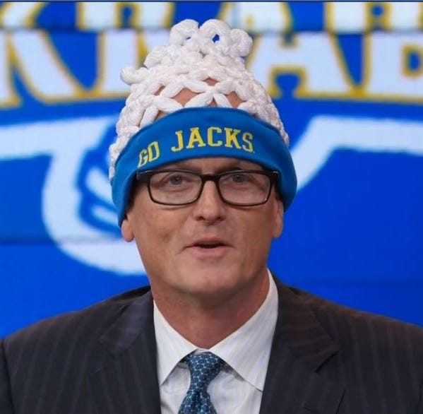 South Dakota State's record-setting rout gets attention of ESPN's Scott Van Pelt
