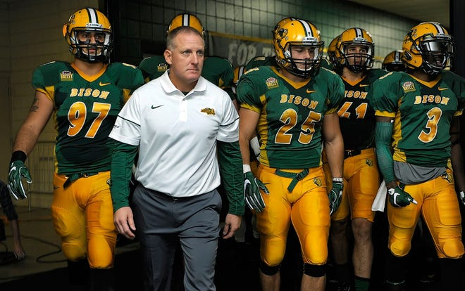 Chris Klieman will lead NDSU on to the Fargodome turf one last time Friday against SDSU in the FCS semifinals