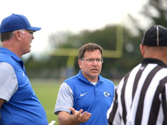 After his team had just one win in three seasons, Dan Rolfe led Fort Defiance to a 5-5 season and kept the Indians in playoff contention until the final week of the season.