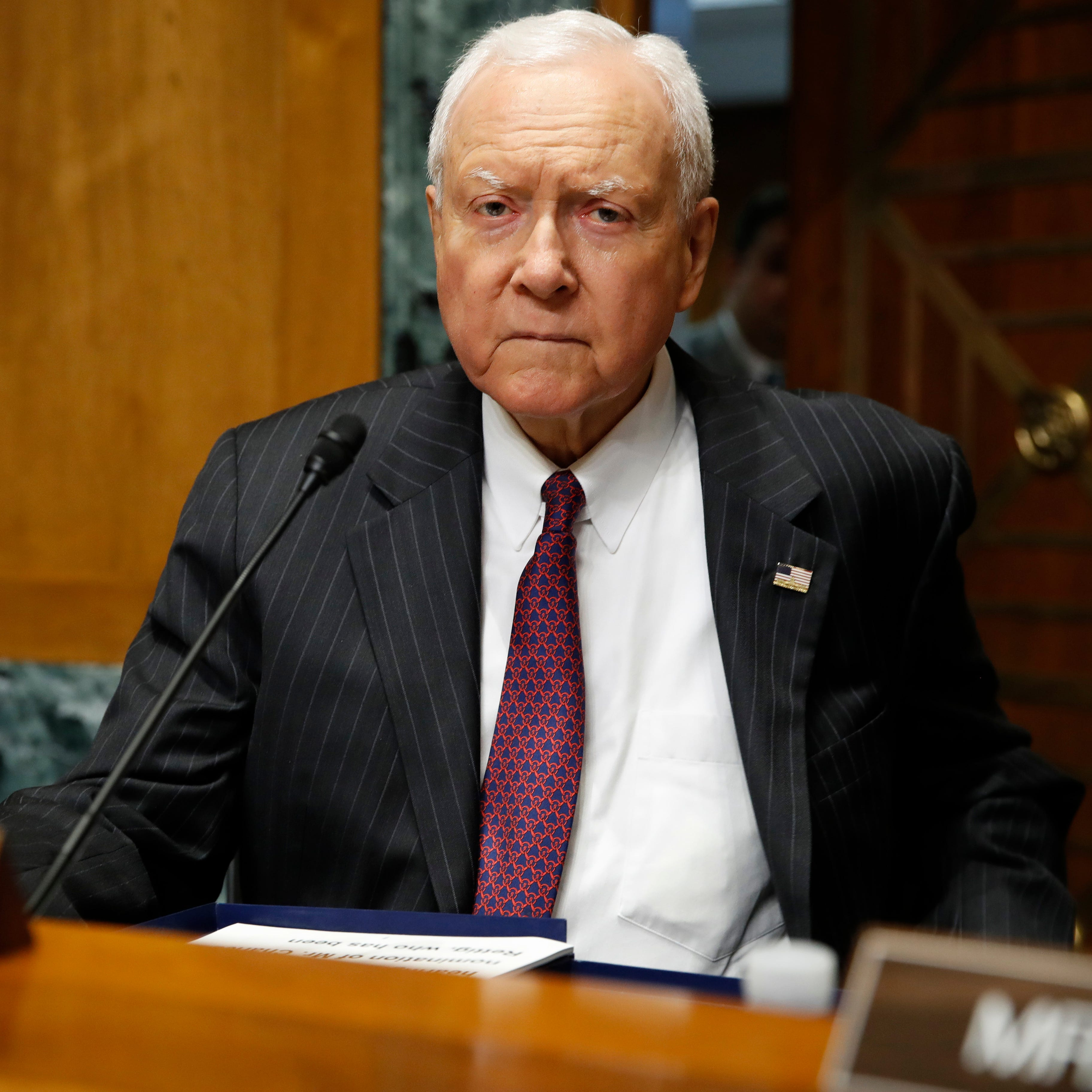 Utah's Orrin Hatch laments loss of civility for U.S. Senate in 'crisis'
