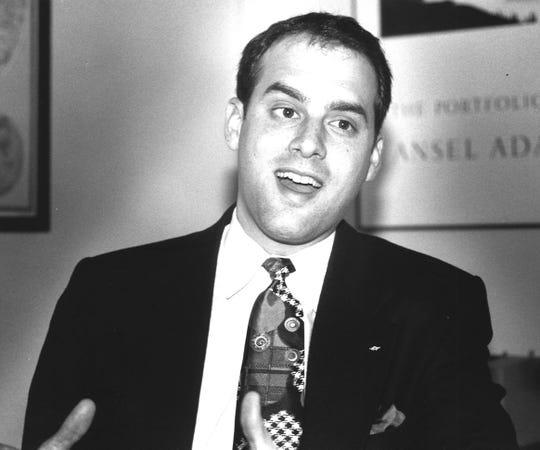 City Commissioner Scott Maddox, Feb. 25, 1993