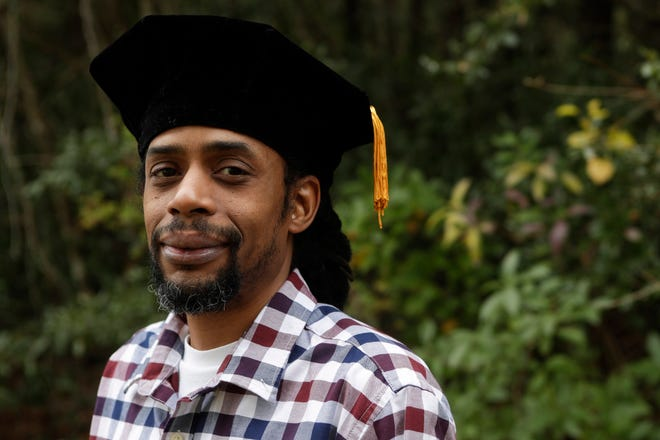 Pablo Correa, 42, will graduate with his PhD from Florida State University on Friday, Dec. 14, 2018.