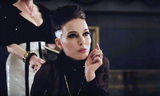 """Natalie Portman plays a troubled pop art in """"Vox Lux,"""" opening Friday."""