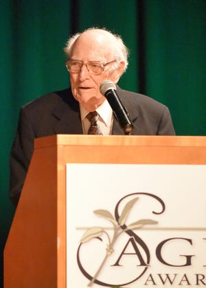 The late Charles Kane spent his retirement as a staunch advocate for seniors. He was the inspiration for the Sage Awards.
