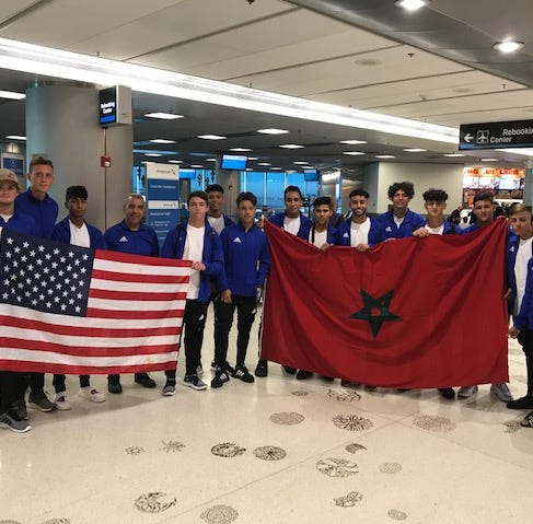 PSL soccer team spreads goodwill in Morocco