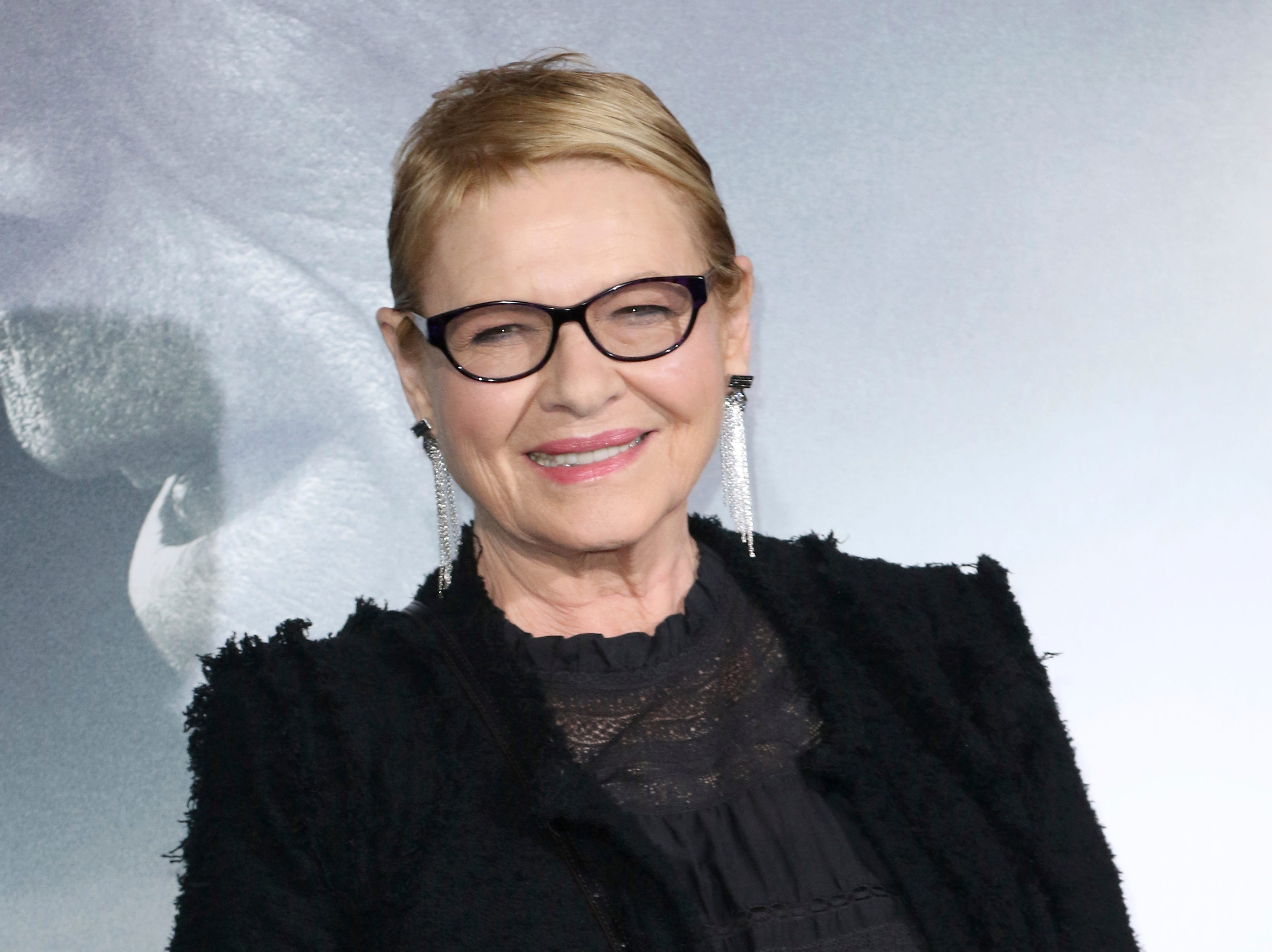 "Dianne Wiest arrives at the world premiere of ""The Mule"" on Monday, Dec. 10, 2018, at the Westwood Regency Village Theatre in Los Angeles."