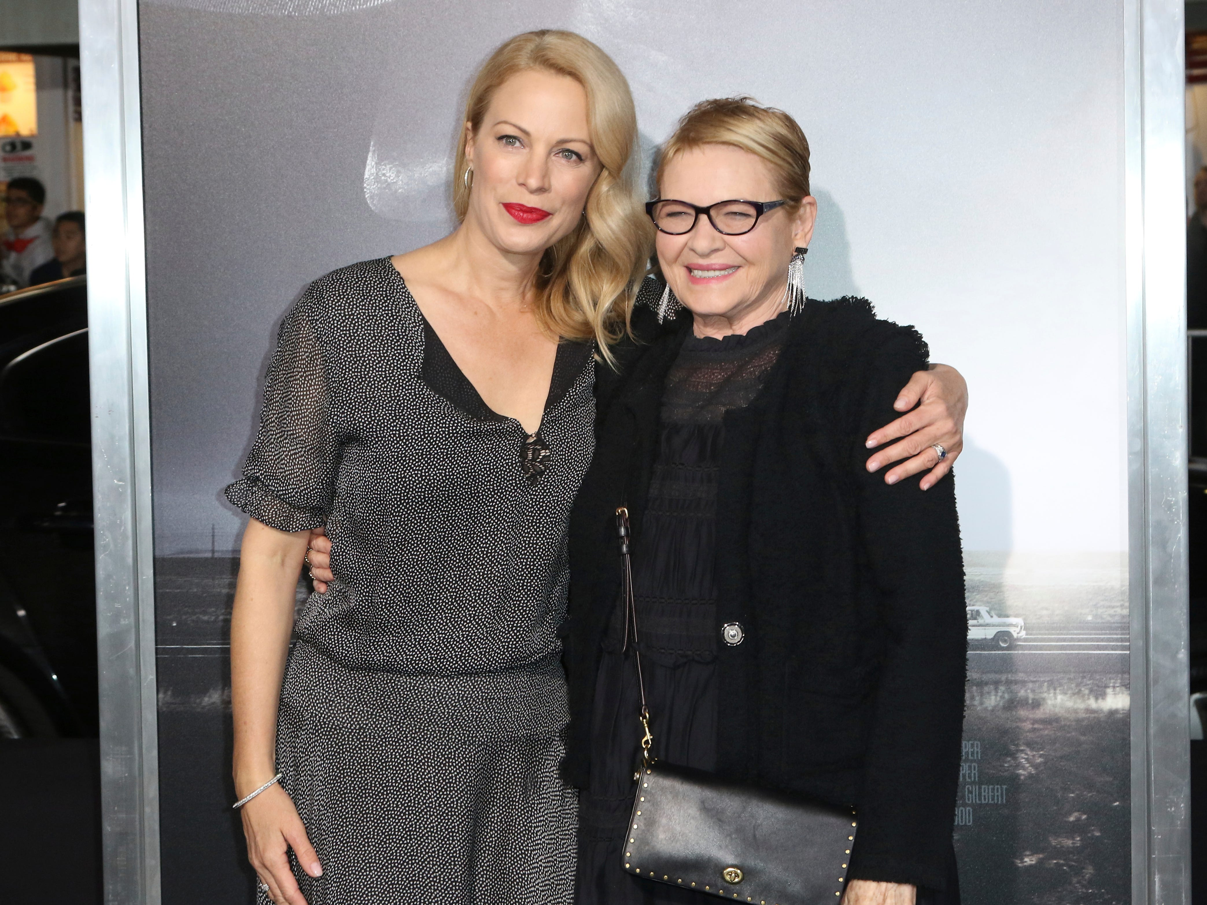 "Alison Eastwood, left, and Dianne Wiest arrive at the world premiere of ""The Mule"" on Monday, Dec. 10, 2018, at the Westwood Regency Village Theatre in Los Angeles."