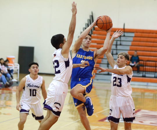 Eastlake battled back from a half-time deficit to beat Eastwood recently at Eastlake High School.