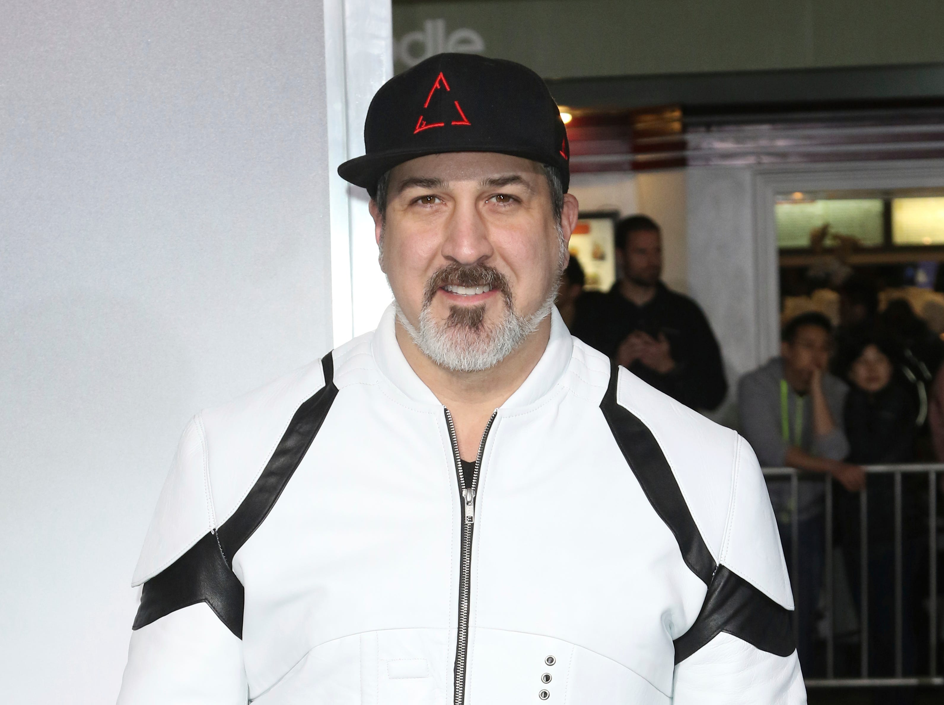 "Joey Fatone arrives at the world premiere of ""The Mule"" on Monday, Dec. 10, 2018, at the Westwood Regency Village Theatre in Los Angeles. (Photo by Willy Sanjuan/Invision/AP)"