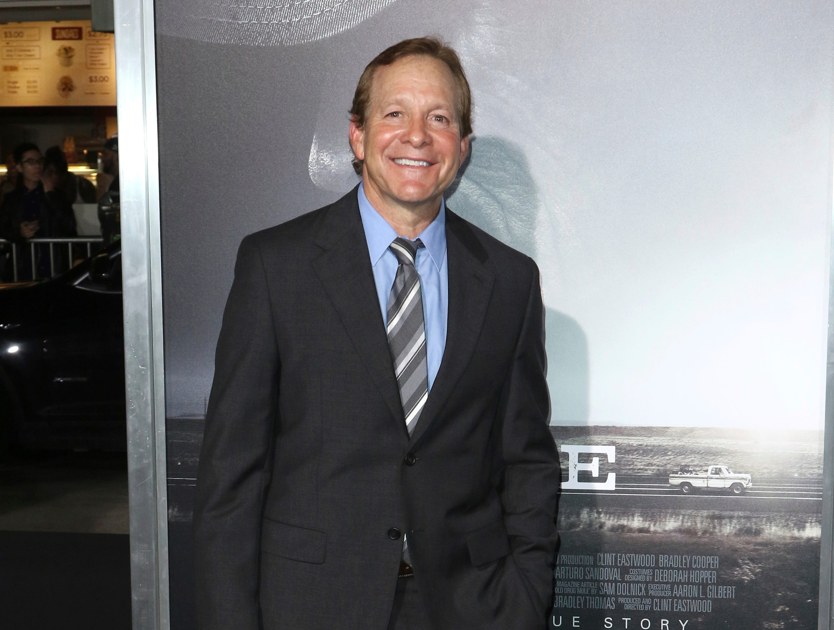 "Steve Guttenberg arrives at the world premiere of ""The Mule"" on Monday, Dec. 10, 2018, at the Westwood Regency Village Theatre in Los Angeles. (Photo by Willy Sanjuan/Invision/AP)"