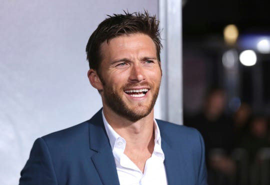 "Scott Eastwood arrives at the world premiere of ""The Mule"" on Monday, Dec. 10, 2018, at the Westwood Regency Village Theatre in Los Angeles."