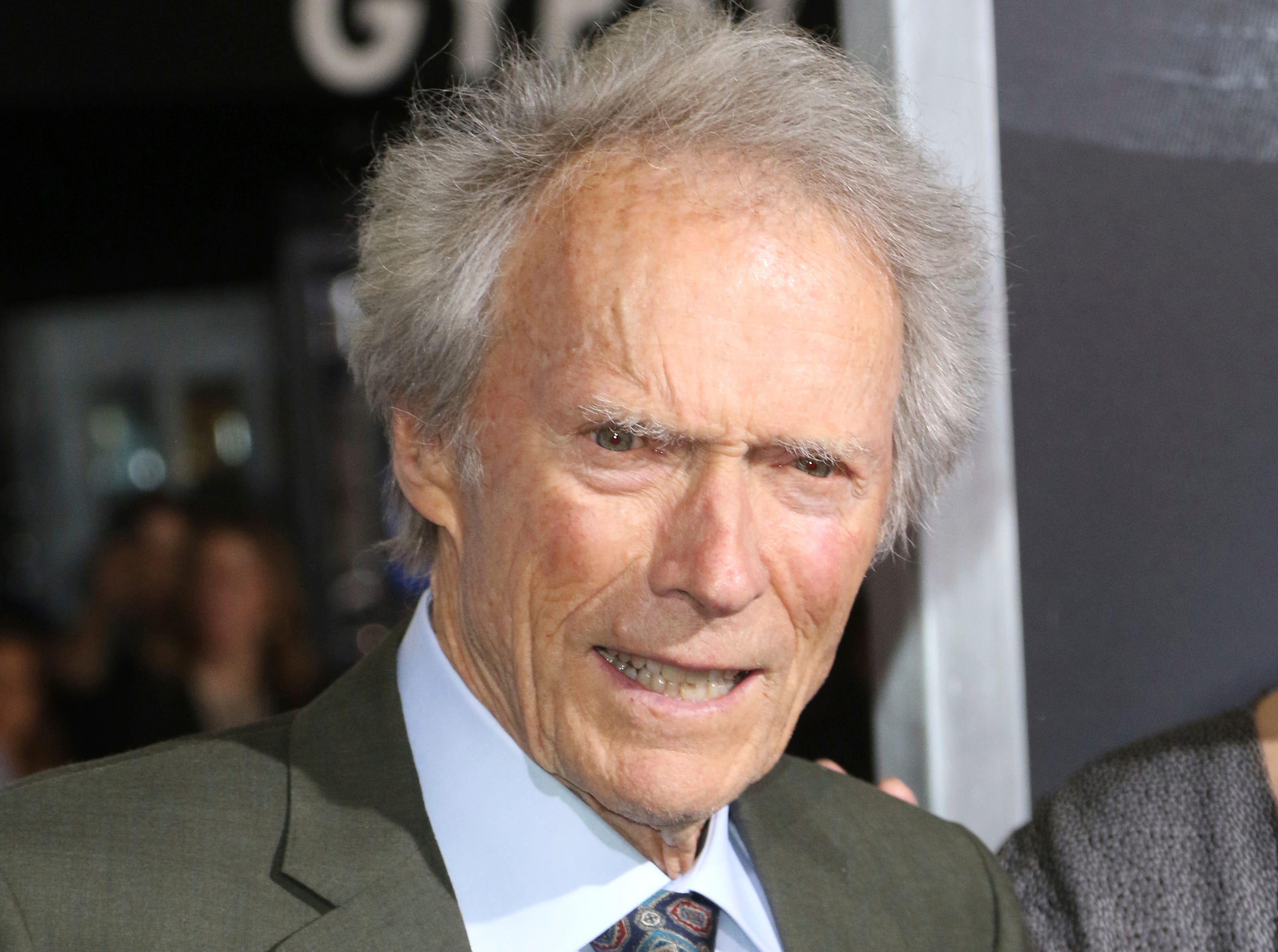 "Clint Eastwood arrives at the world premiere of ""The Mule"" on Monday, Dec. 10, 2018, at the Westwood Regency Village Theatre in Los Angeles."