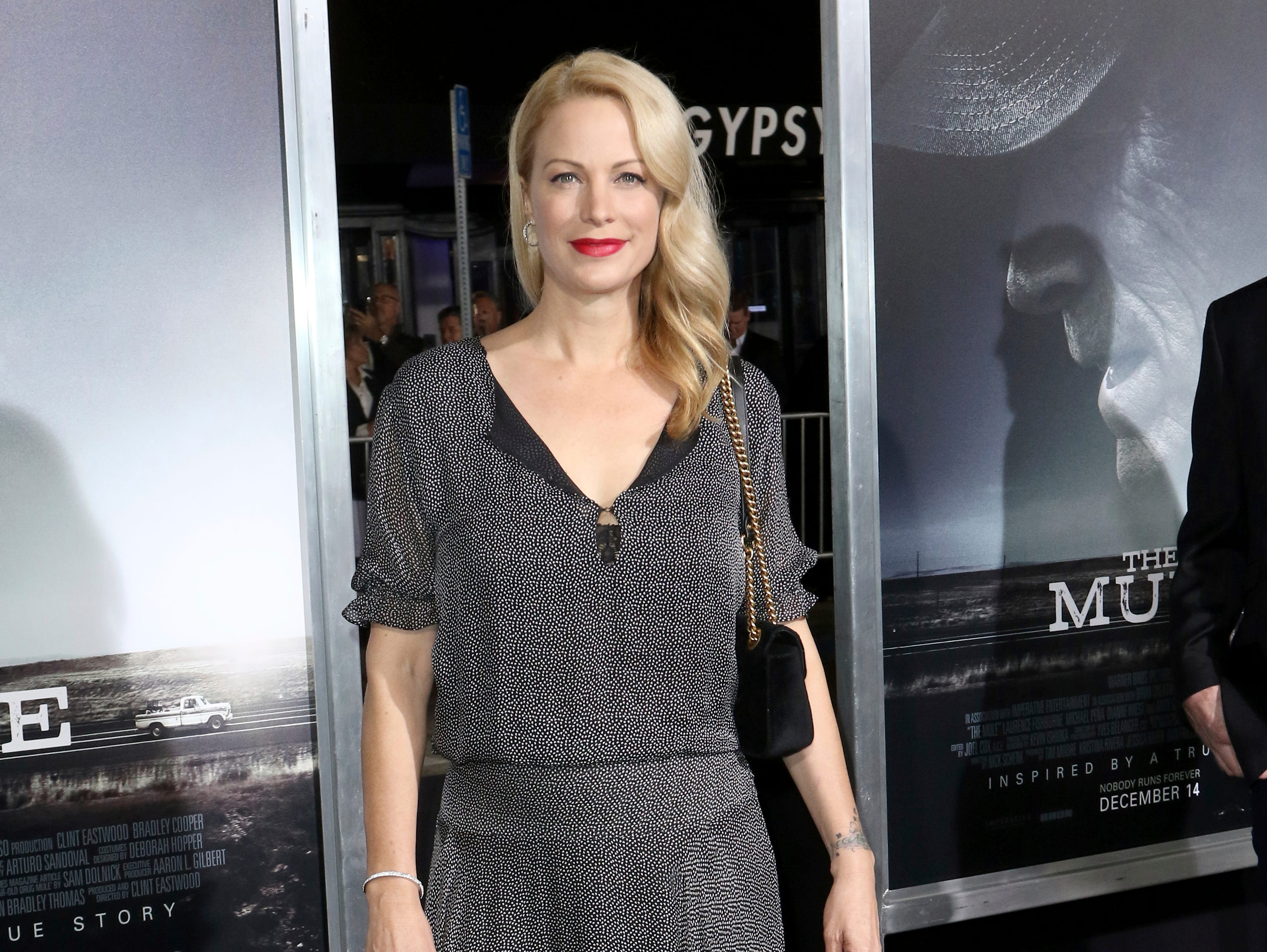 "Alison Eastwood arrives at the world premiere of ""The Mule"" on Monday, Dec. 10, 2018, at the Westwood Regency Village Theatre in Los Angeles."
