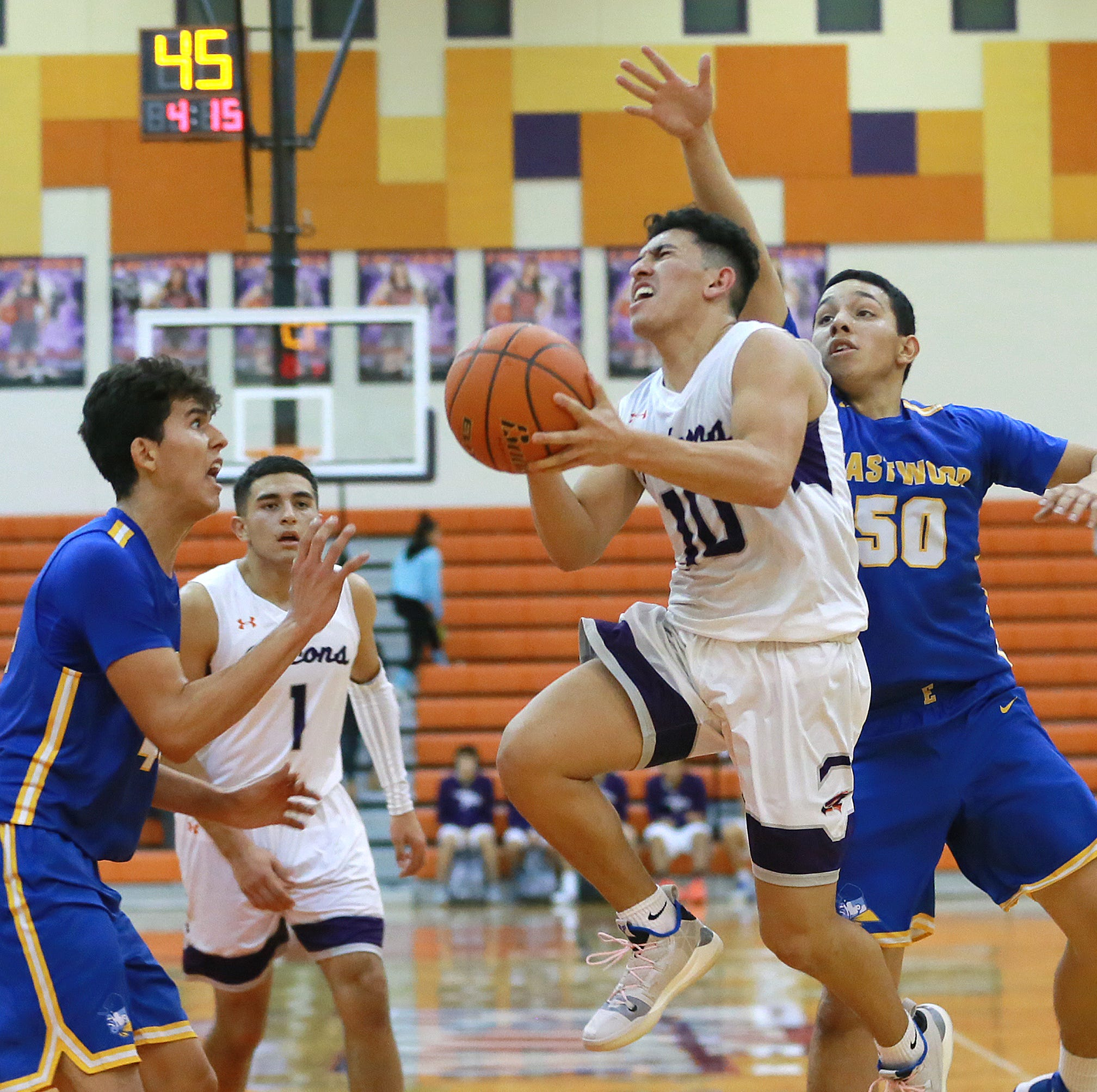 El Paso high school sports schedule for Tuesday, Jan. 22