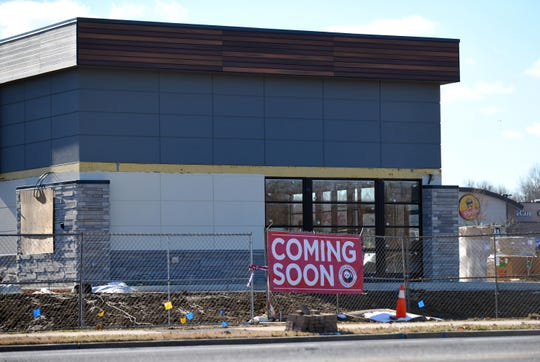 Panda Express will open soon on West Landis Avenue in Vineland, between ShopRite and Lidl grocery stores. Construction at the site continues on Friday, December 7, 2018.