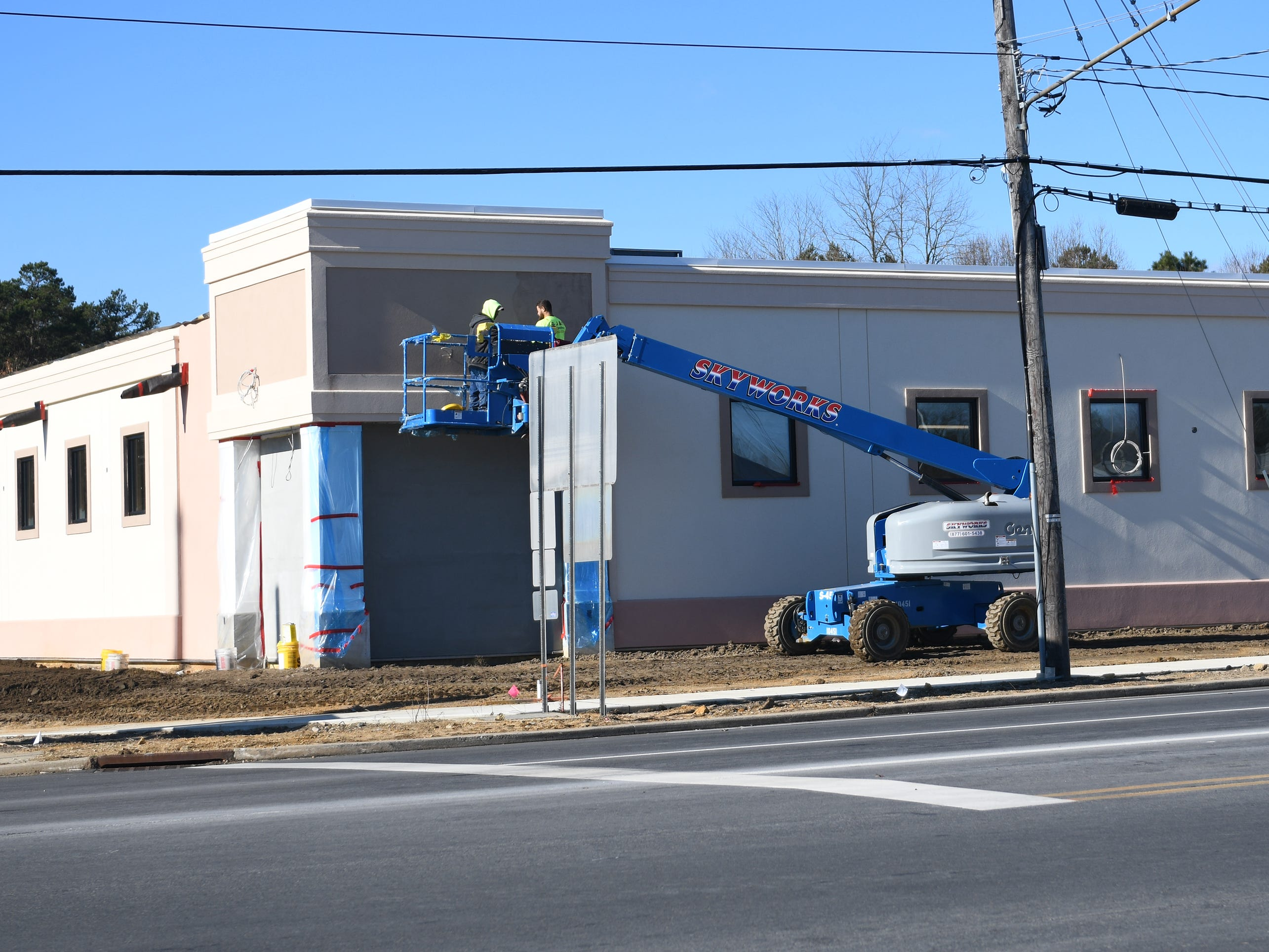 The Brass Tap Craft Beer Bar will open soon at 2738 S. Delsea Drive in Vineland. Construction at the site continues on Friday, December 7, 2018.