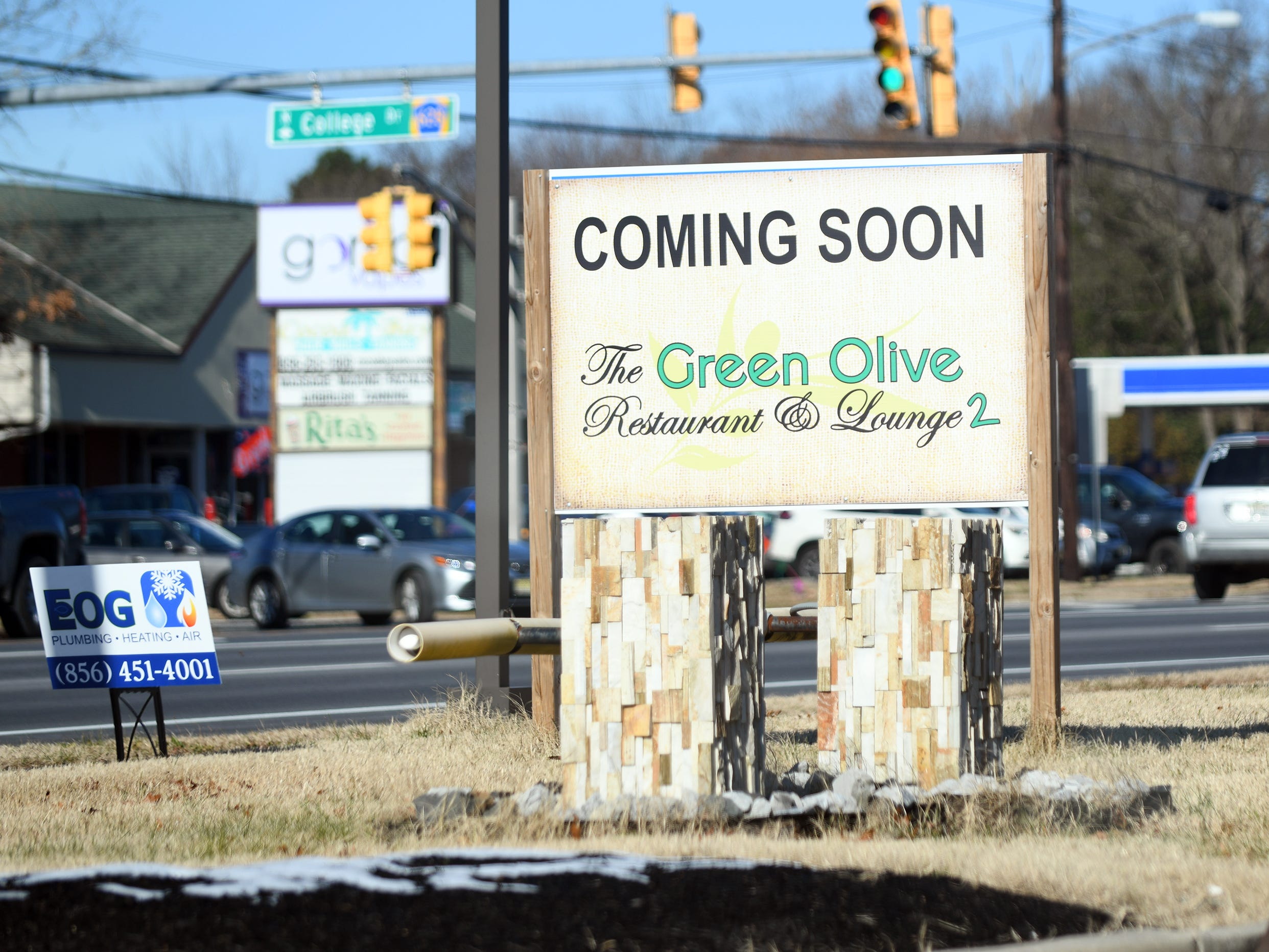 The former Cosmopolitan Restaurant, located on 3513 S. Delsea Drive in Vineland, will become The Green Olive Restaurant and Lounge 2. Construction at the site continues on Friday, December 7, 2018.