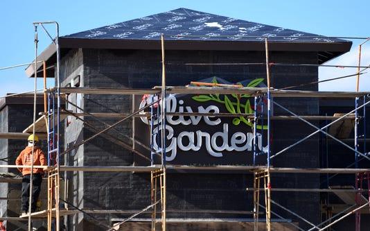 Vineland Construction Olive Garden