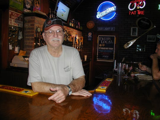 Howie Hildebrand was a fixture behind the bar at Howie & Son's Pizza. He died unexpectedly on Saturday.