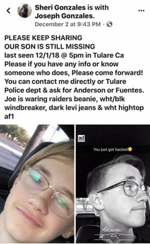 Joe Thomas has been found healthy and unharmed, according to Tulare police.