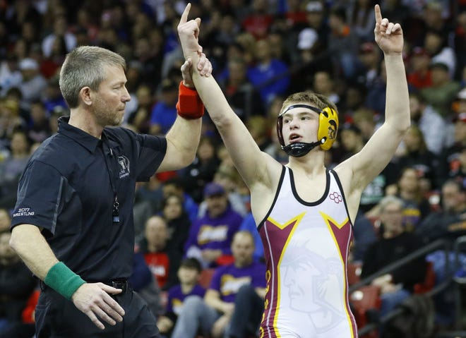 Luxemburg-Casco's Bryce Bosman has won a WIAA Division 2 state individual wrestling title in each of the first three years of his high school career. He has a chance to join an elite group in the state's history with a championship this season.