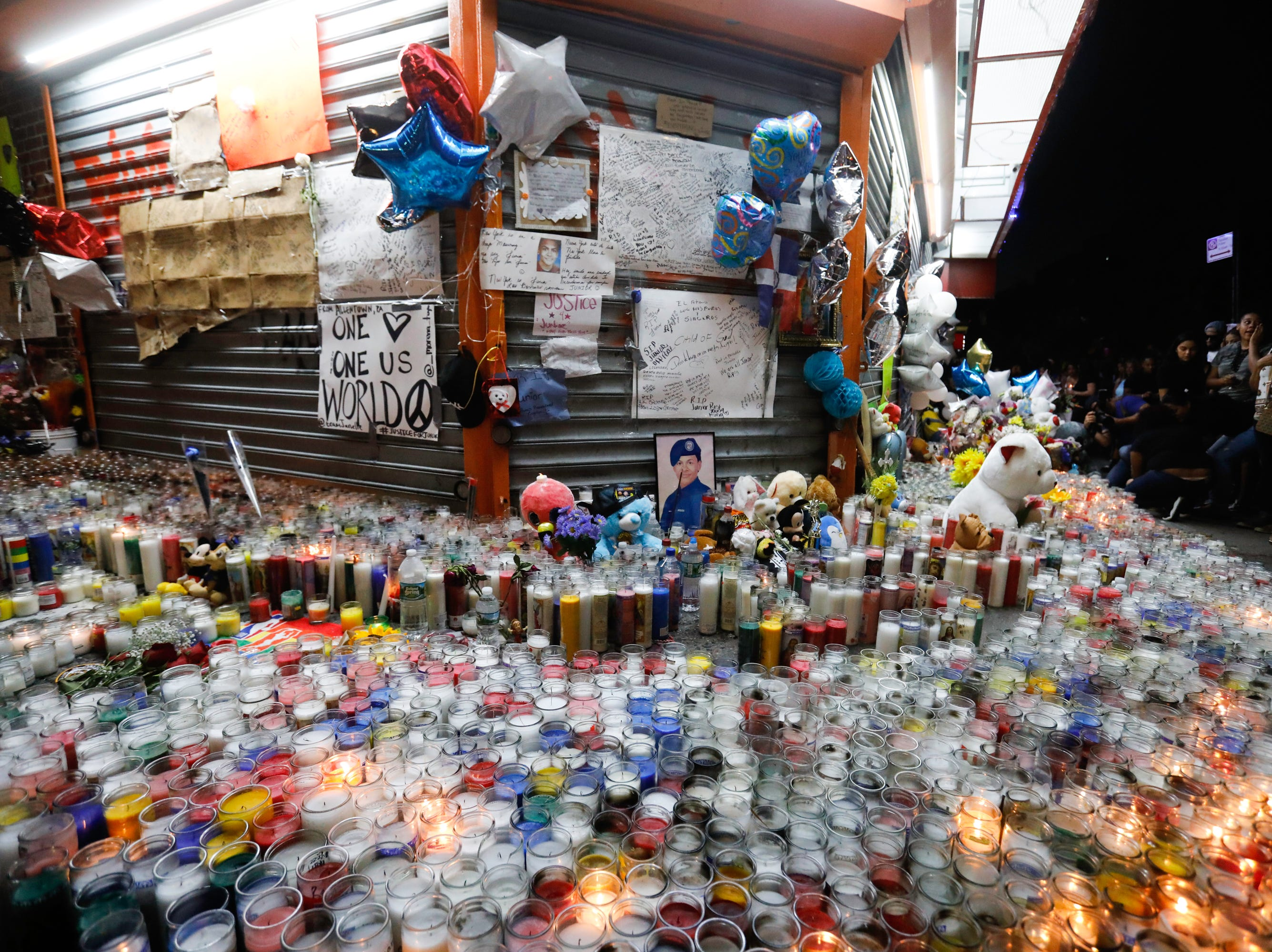 """Thousands of people attended the funeral for Lesandro """"Junior"""" Guzman-Feliz, 15, on June 25, 2018, a South Bronx teen who was killed by a gang by mistaken identity last Wednesday."""