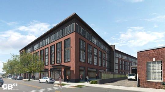 A developer is proposing 82 loft apartments in downtown Pleasantville.
