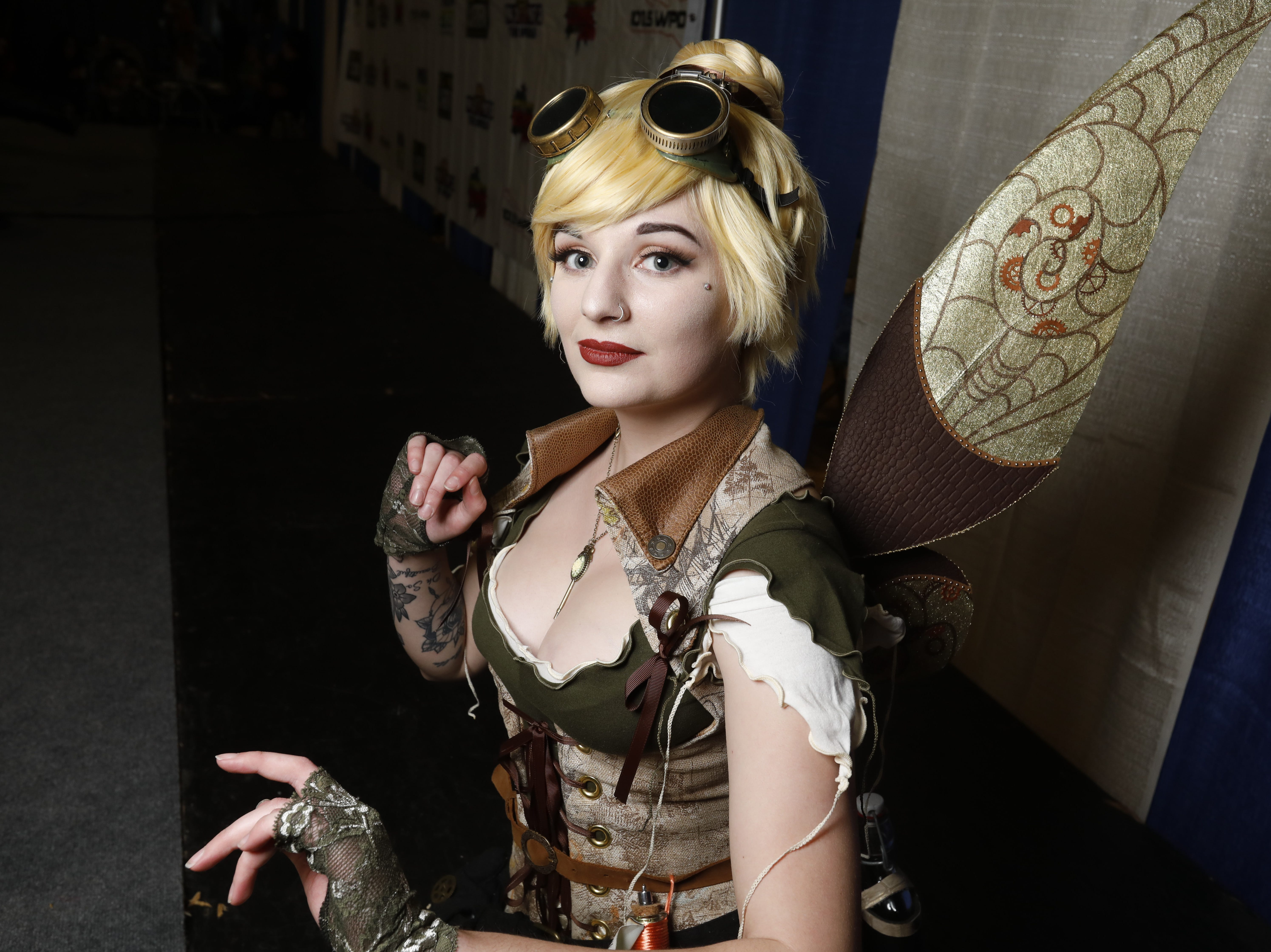 Hundreds of people attended the Hudson Valley Comic Con at the Gold's Gym and Exhibition Center in Poughkeepsie on April 21, 2018.  The 2 day event includes  a costume contest, vendor booths and forums.