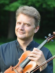 Violinist Alexander Abayev performs Dec. 16 with the Symphony of Westchester at Iona College in New Rochelle.