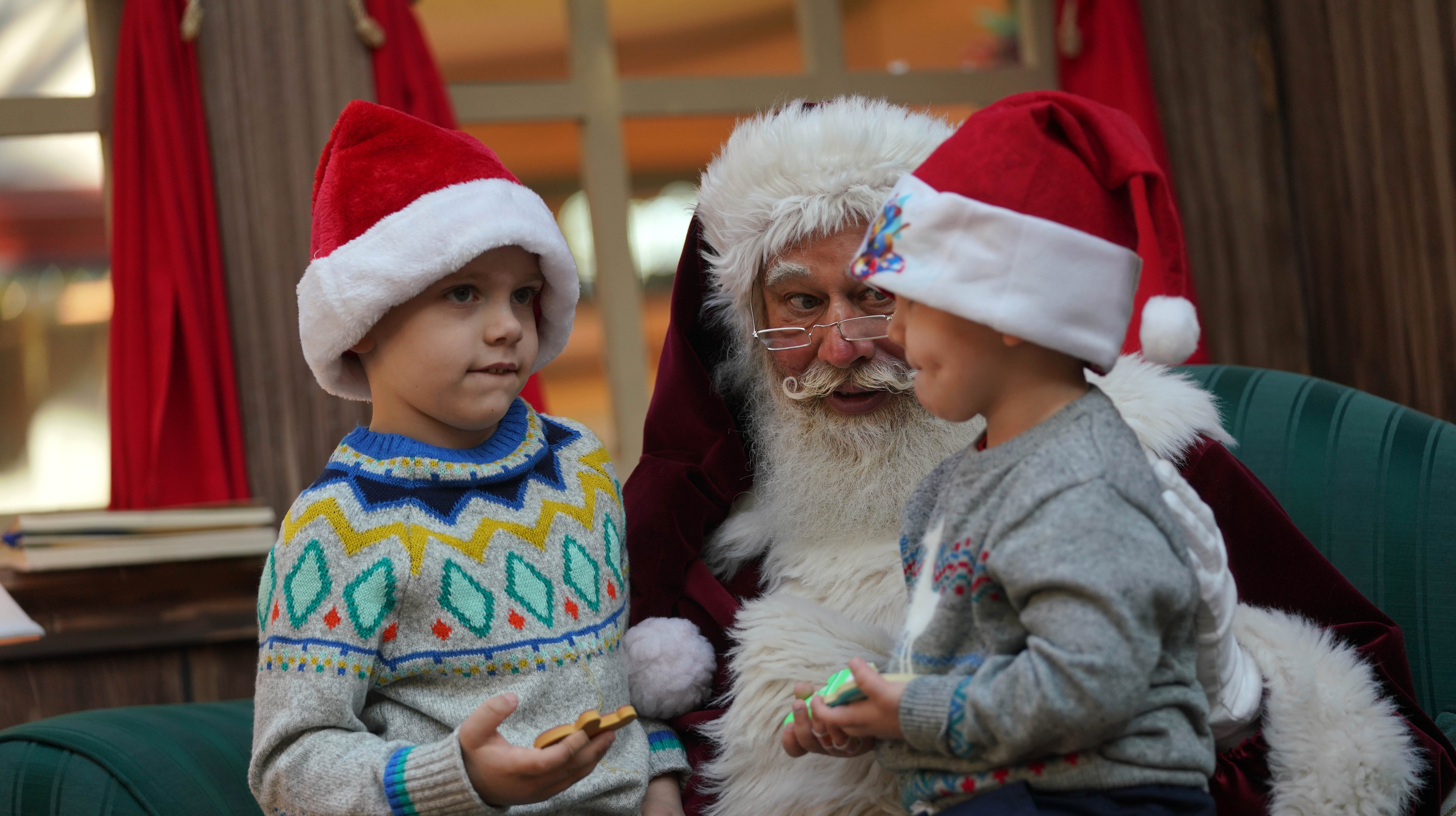 'The real deal': The story behind the Concord Mall Santa who melted our hearts on Facebook