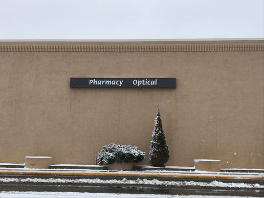 A pharmacy sign at Shopko in Wisconsin Rapids