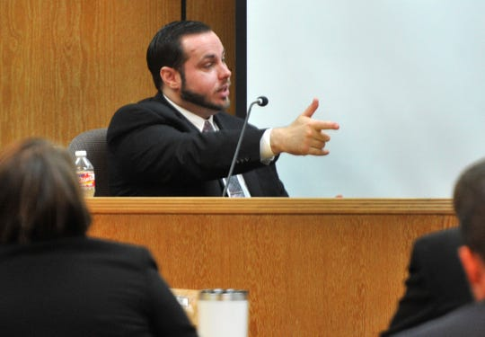 Justin Love testified during his trial held in the 30th district courtroom Wednesday morning. Love is one of three co-defendants accused in the murder of Domanic Thrasher in June 2015.