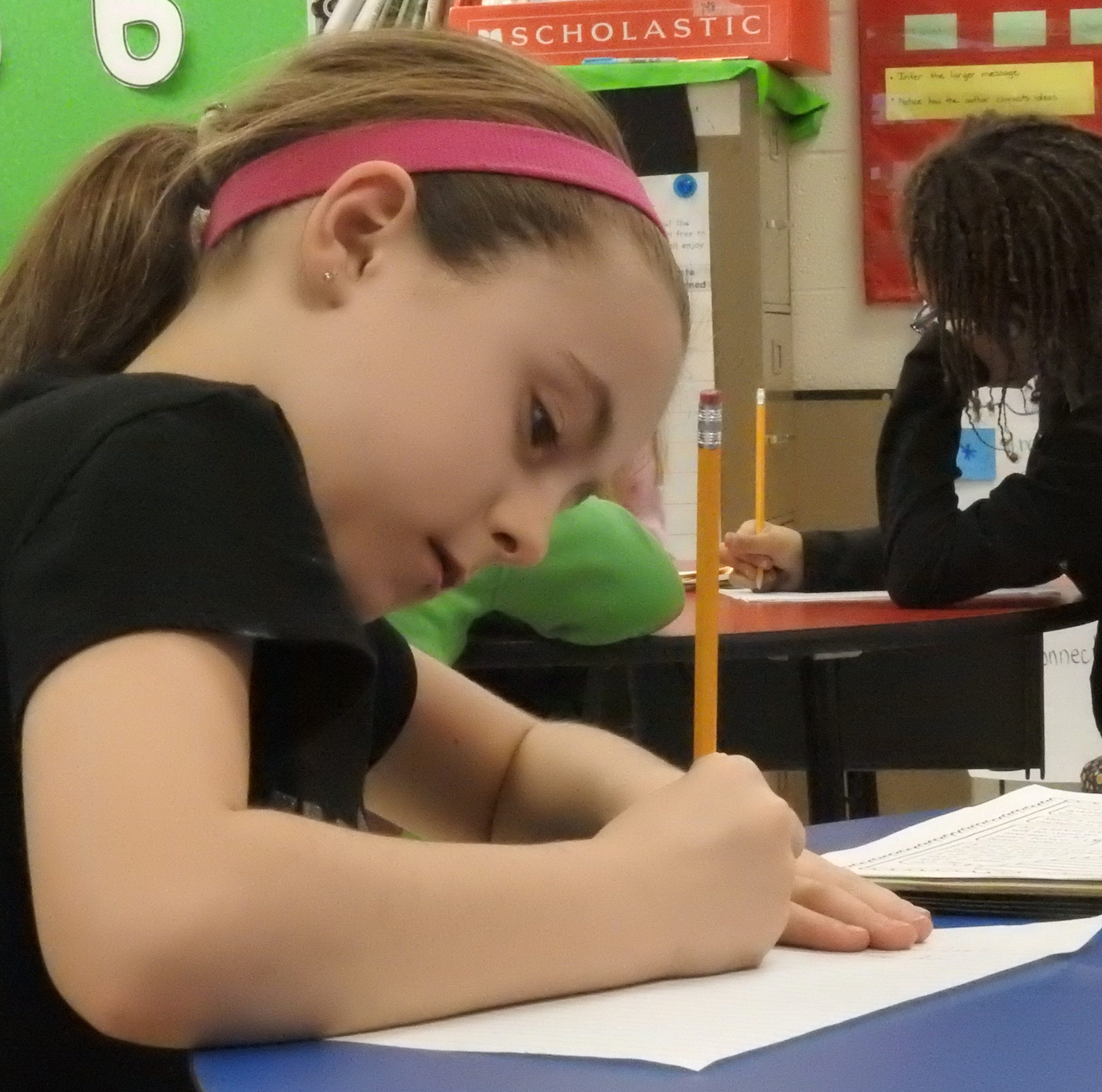 Cursive demoted, but not erased, in local schools