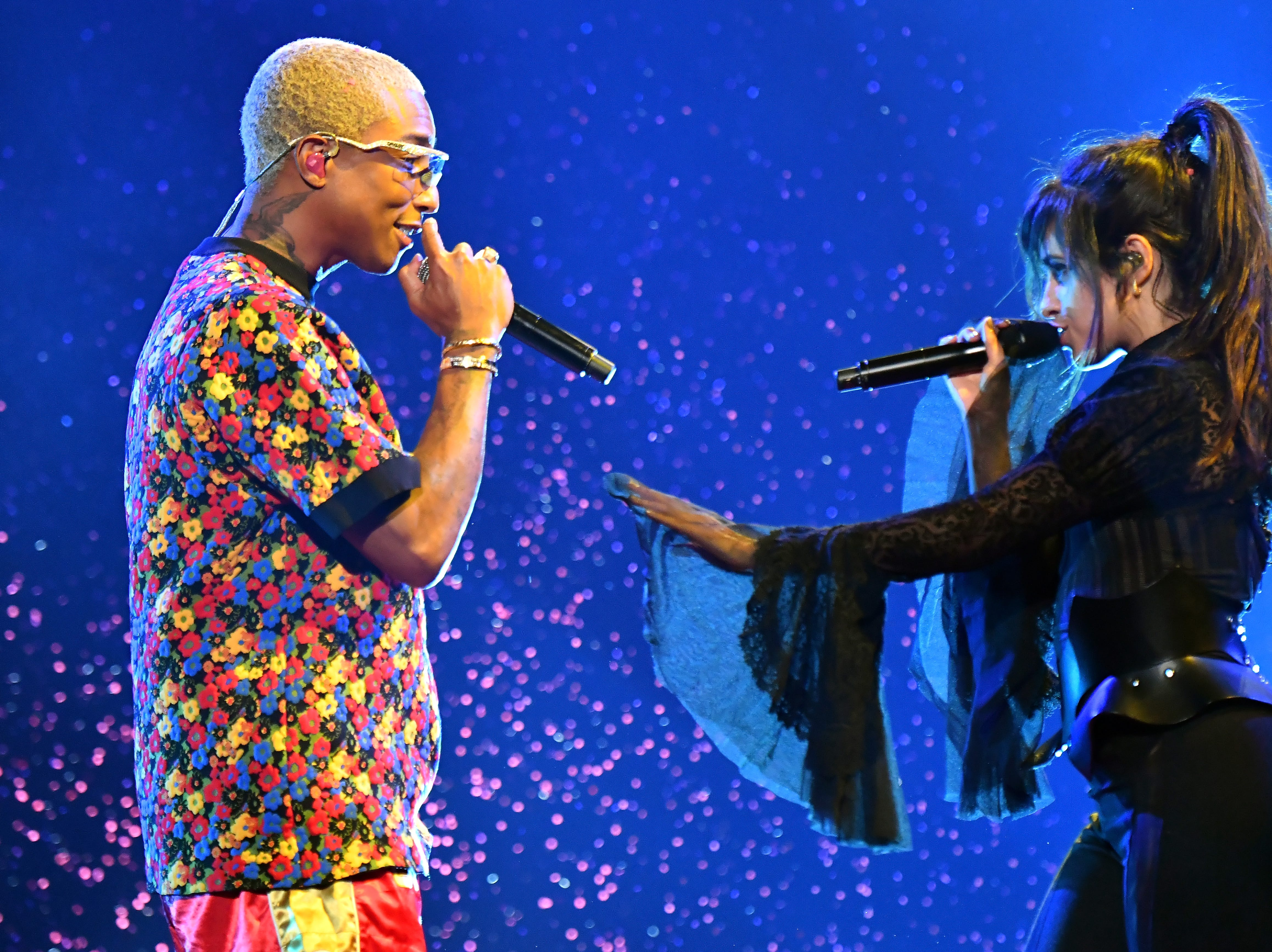 May 20:  Pharrell and Camila Cabello also perform at the Billboard Music Awards.