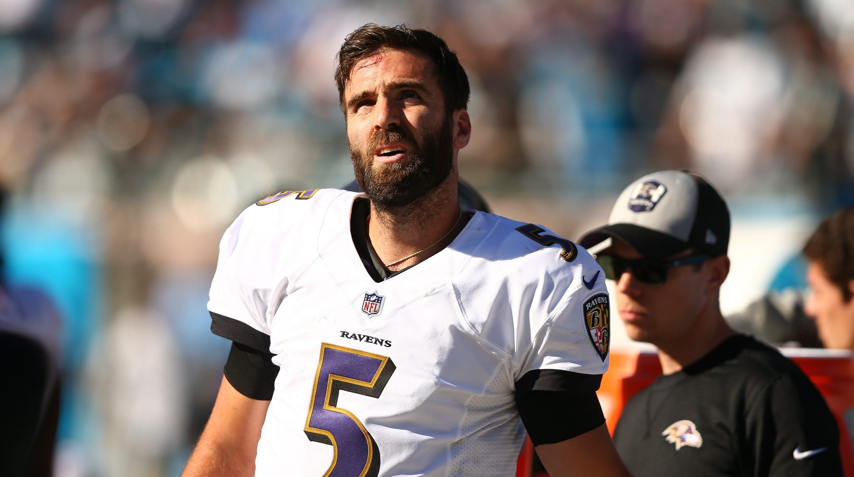 timeless design b7fec 84548 Baltimore Ravens: Joe Flacco to serve as Lamar Jackson's backup