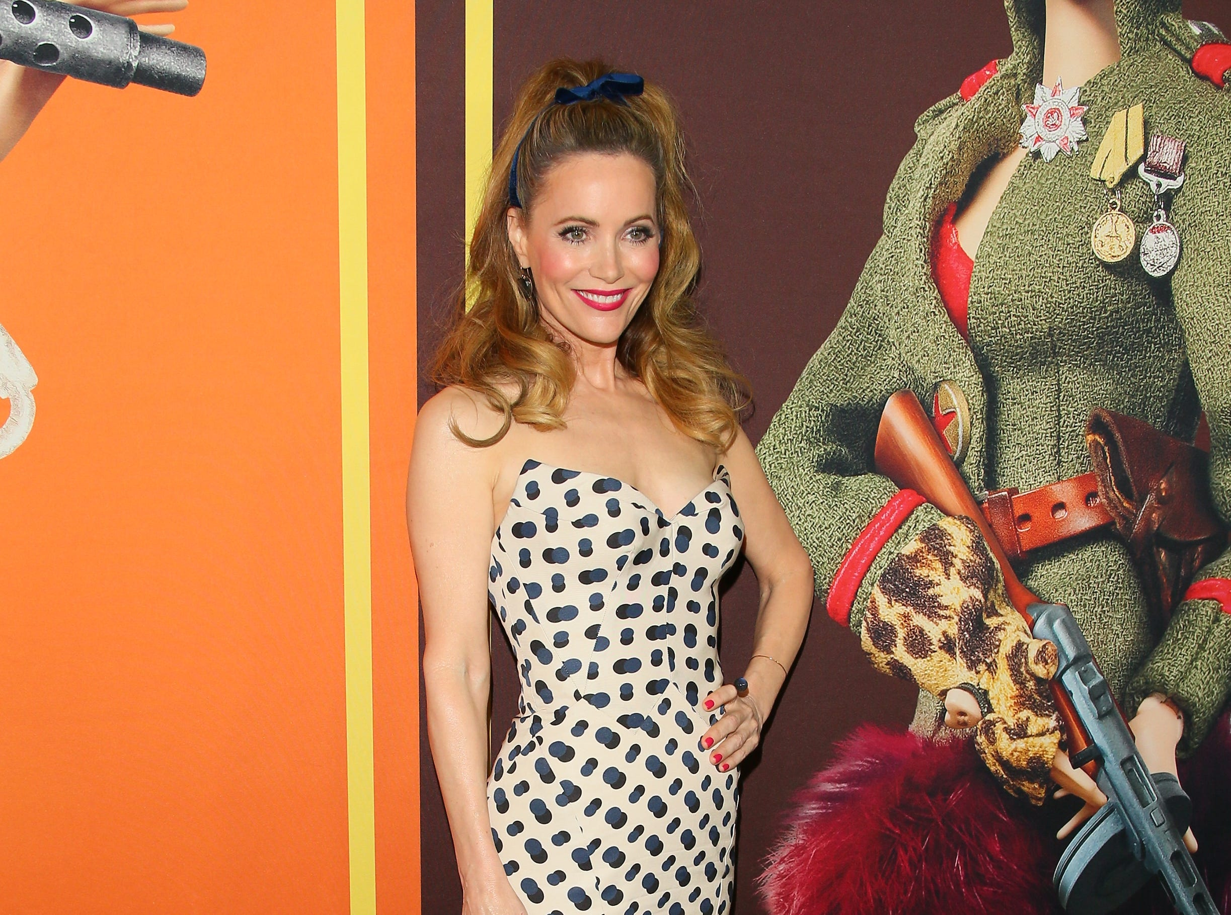 """December 10: Leslie Mann also attends the  """"Welcome To Marwen"""" premiere."""