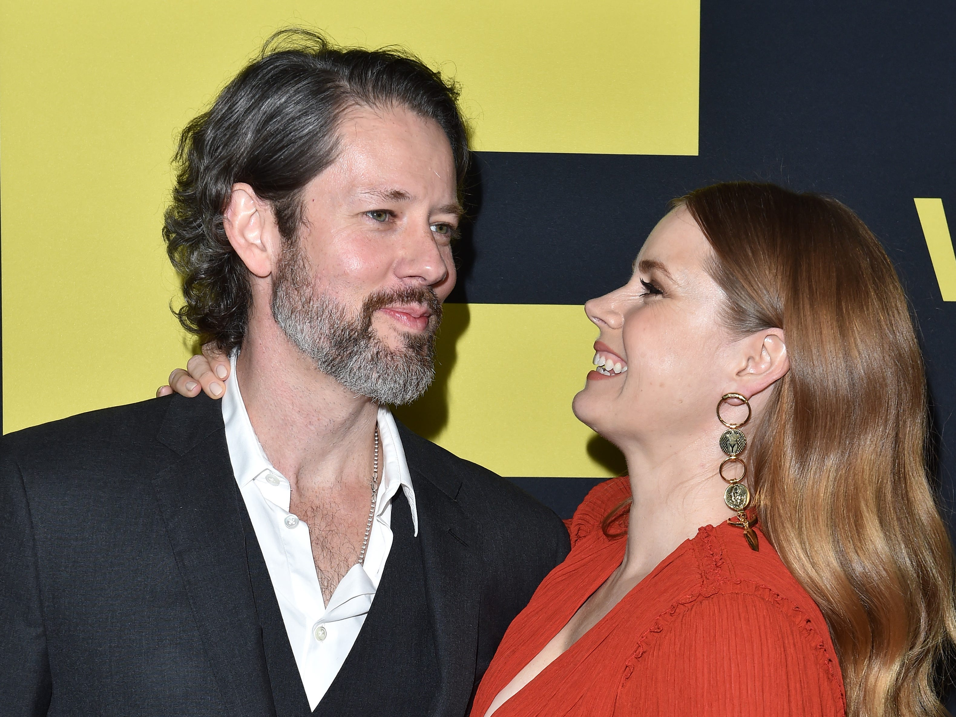 BEVERLY HILLS, CA - DECEMBER 11:  Darren Le Gallo and Amy Adams attend Annapurna Pictures, Gary Sanchez Productions and Plan B Entertainment's World Premiere of 'Vice' at AMPAS Samuel Goldwyn Theater on December 11, 2018 in Beverly Hills, California.  (Photo by Axelle/Bauer-Griffin/FilmMagic) ORG XMIT: 775265234 ORIG FILE ID: 1071952614