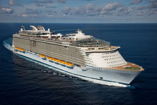 Oasis Of The Seas Launch