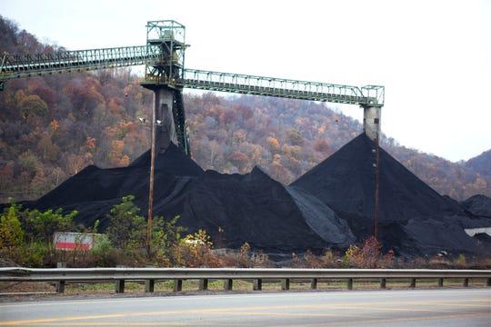 A coal mine in Clear Creek, West Virginia.