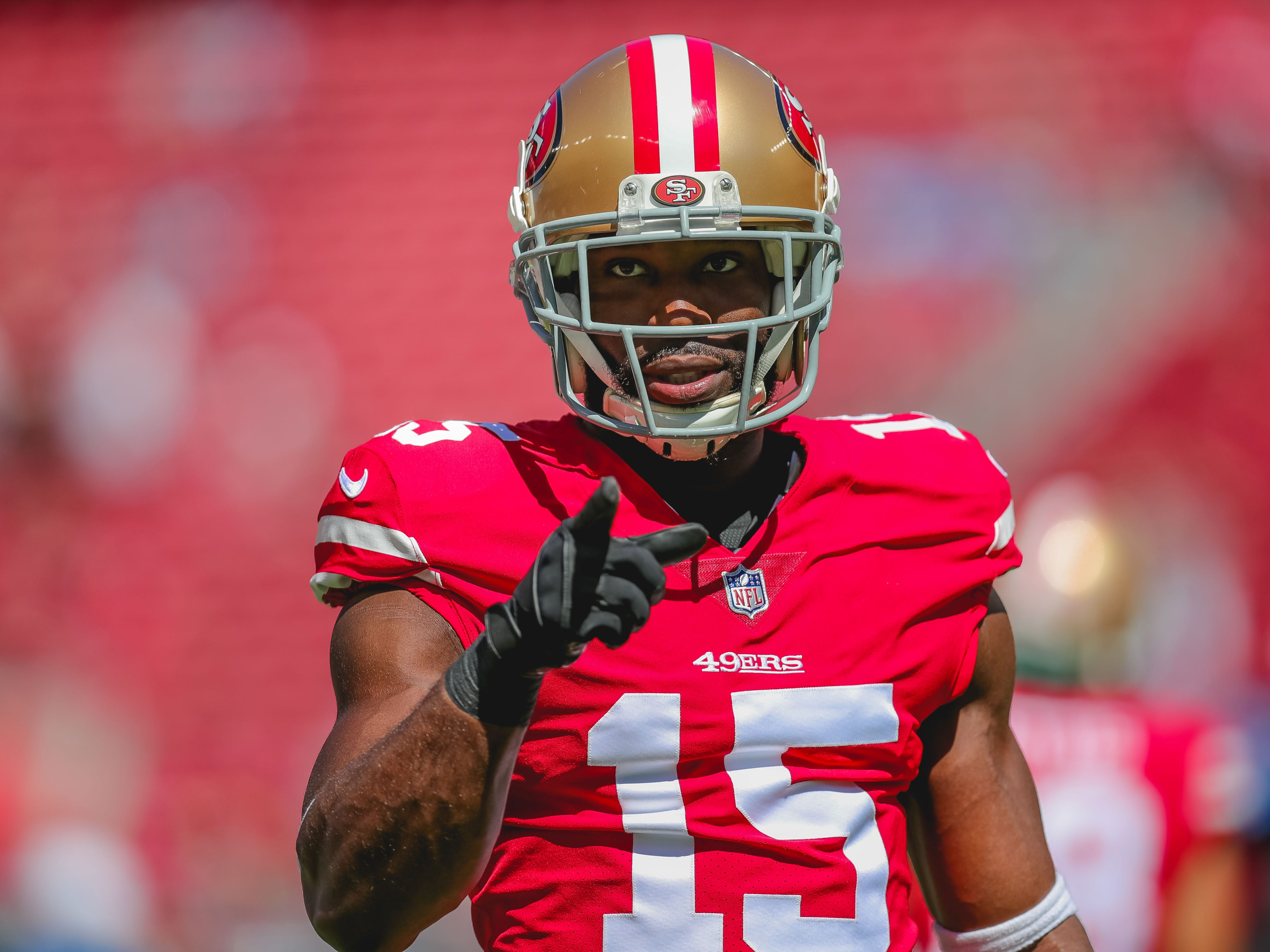 Pierre Garcon, WR, San Francisco 49ers (knee, out for season)