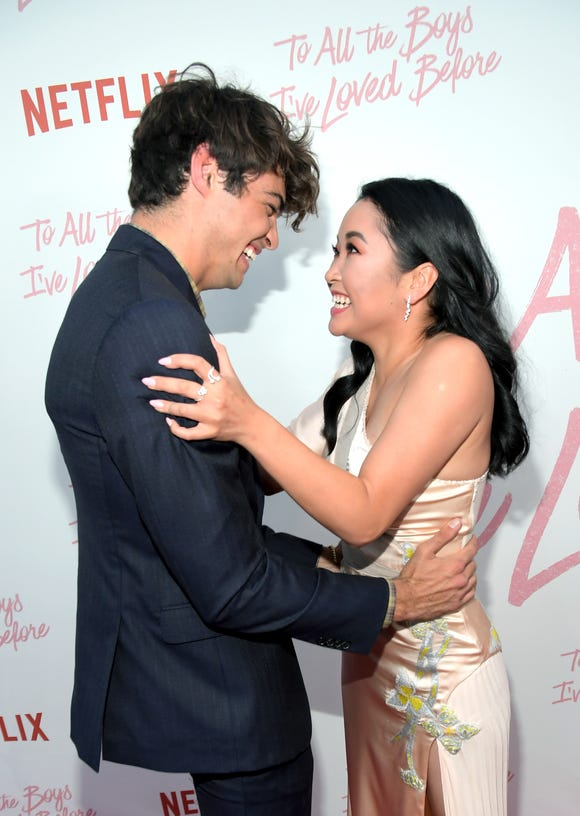 "Noah Centineo and Lana Condor have plenty of reason to smile: Their Netflix film ""To All the Boys I've Loved Before"" is officially getting a sequel."