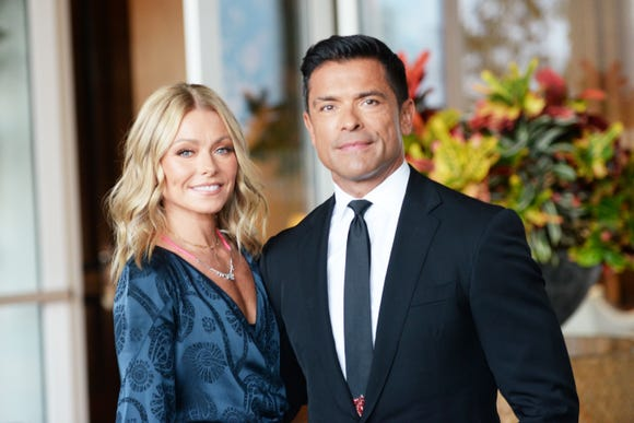 Happy together: Kelly Ripa and Mark Consuelos have been married since 1996.