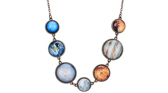 Handmade Planet Necklace